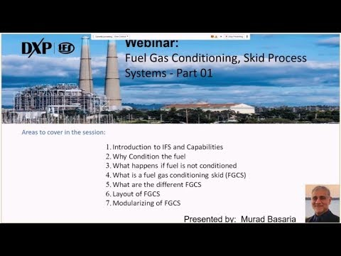 IFS Fuel Gas Conditioning System