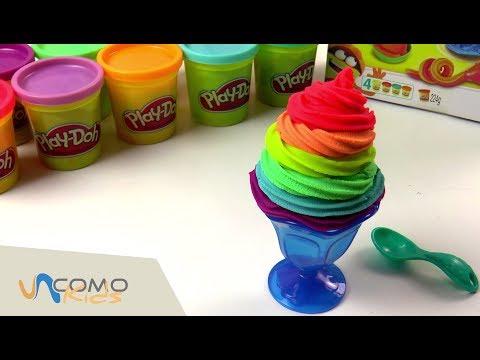 Play doh cocina desayuno de plastilina doovi - Cocina play doh ...