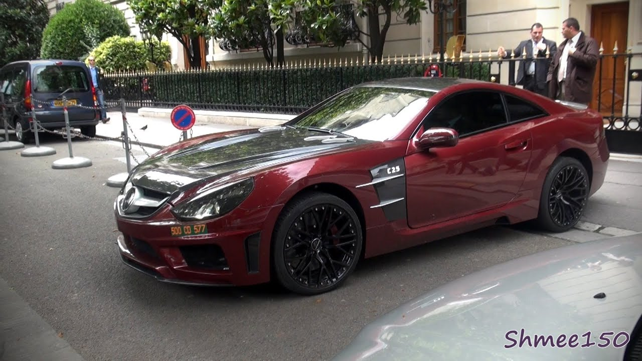 Carlsson C25 Royale - Briefly spotted in Paris - YouTube