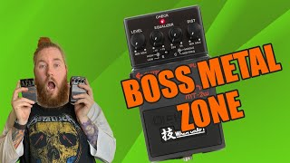BOSS Metal Zone MT-2W Guitar Pedal Old VS NEW Whats The Difference?? REVIEW