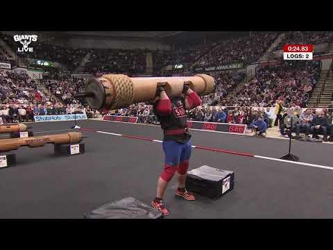 Britain's Strongest Log Pressers!