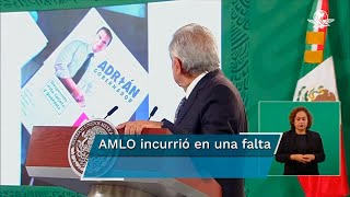 El representante del PRD ante el INE, Ángel Ávila, advirtió que ya se alista la queja ante la autoridad administrativa electoral, porque el mandatario federal, con ese hecho, violentó la Constitución