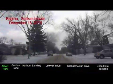 2015-12-18 Regina today (Albert Park, Harbour Landing, Downtown) min -14 °C