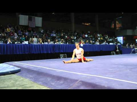 Paul Hamm - Floor Exercise - 2012 Winter Cup Prelims