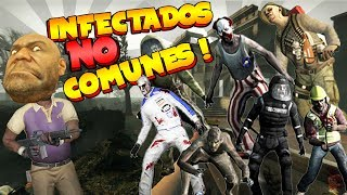 Infectados NO COMUNES !!! Left 4 dead 2 | Mishifu