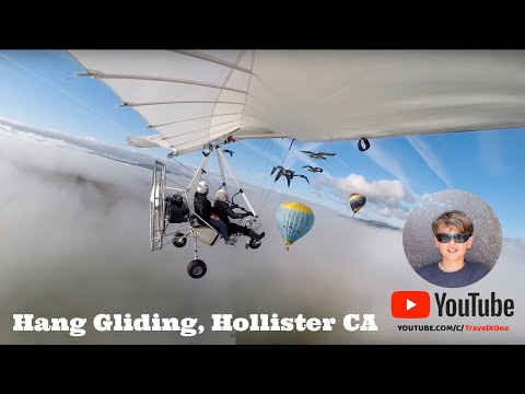 Hang gliding: first lesson