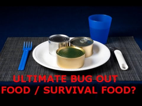 THE ULTIMATE BUG OUT EMERGENCY / SURVIVAL FOOD - JIC SHTF WROL ECONOMIC COLLAPSE NATURAL DISASTER