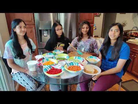 Veggie Cream Rolls - Sunday School - By Aastha, Siona, Somya, Janvi