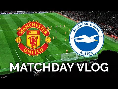 MANCHESTER UNITED 1-0 BRIGHTON | MATCHDAY VLOG | PREMIER LEAGUE