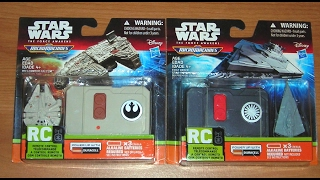 STAR WARS The Force Awakens Micro Machines Millennium Falcon RC Vehicle New