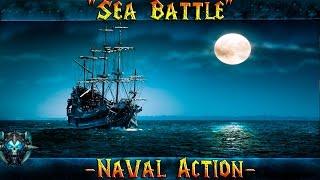 """Naval Action """"Морское Сражение"""" Битва с Испанцами"""