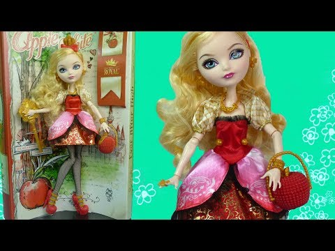 ОБЗОР куклы Ever After High Эппл Вайт (Apple White) Базовая