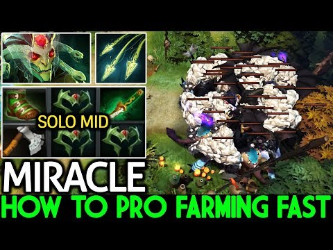 Miracle- [Medusa] How To Pro Farming so Fast Crazy Game 7.21 Dota 2 thumbnail