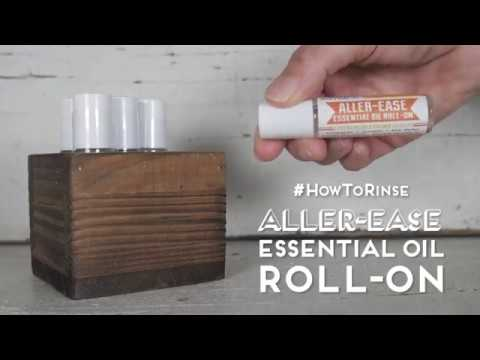 #HowToRinse: Aller-Ease Essential Oil Roll-On