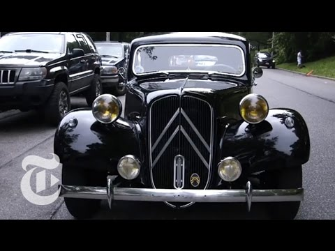 Bastille Day 2014: Vintage French Cars Turn Heads   The New York Times