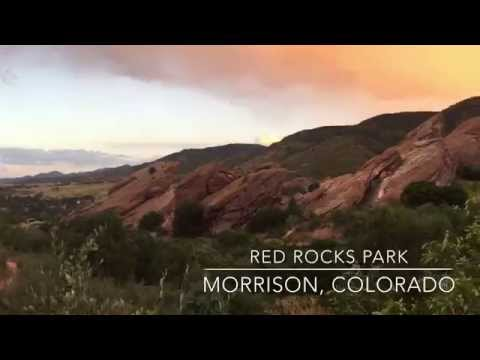 Hiking Red Rocks Park Amphitheater Colorado