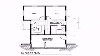 Small House Floor Plans Under 1000 Sq  Ft  See Description   See Description