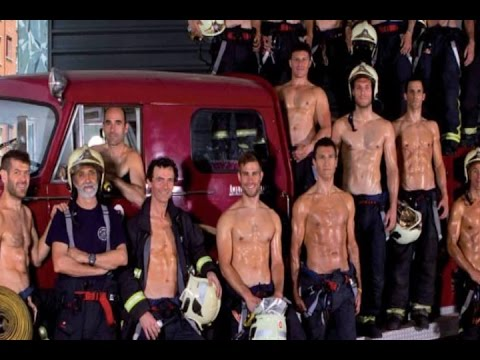 'Making of' calendario de bomberos de Bilbao
