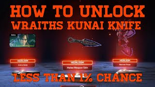 How To Unlock The Wraiths Secret Knife Skin In Apex Legends