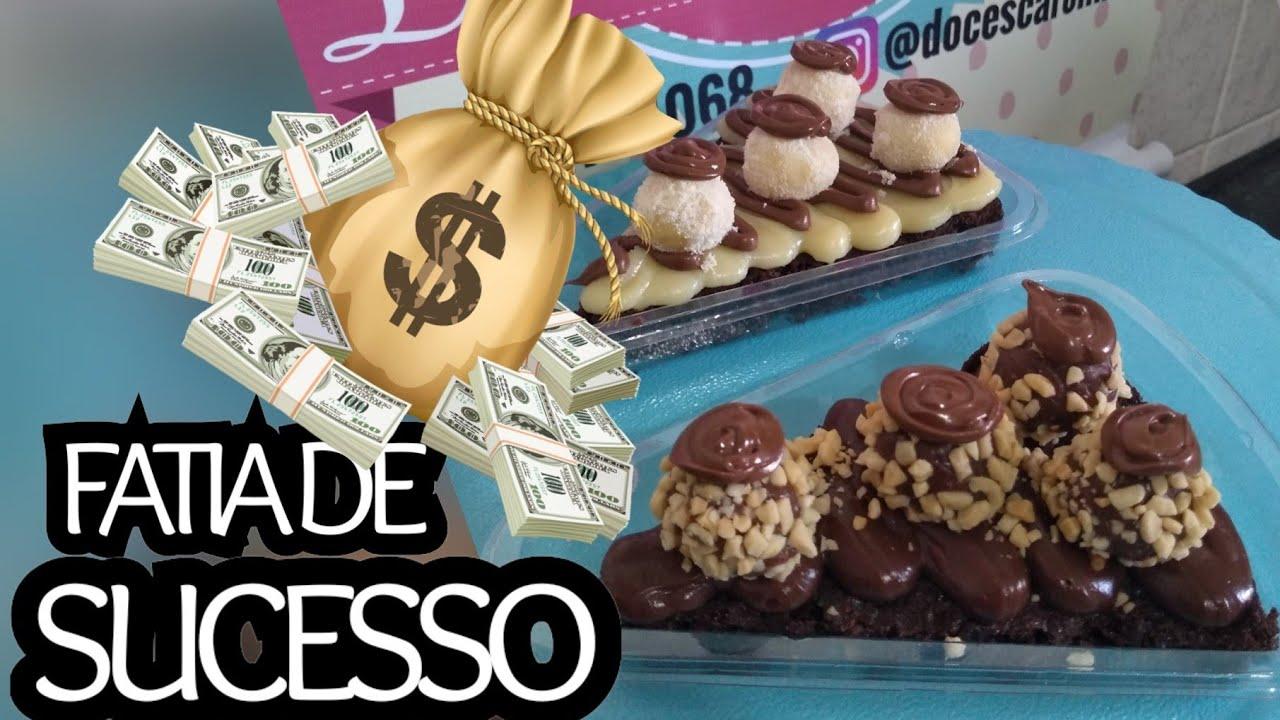 FATIA DE SUCESSO / FATIA BROWNIE