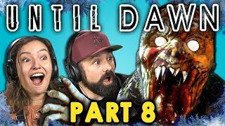 CRAZED MOUNTAIN ZOMBIE!? | UNTIL DAWN - Part 8 (React: Let's Plays) thumbnail