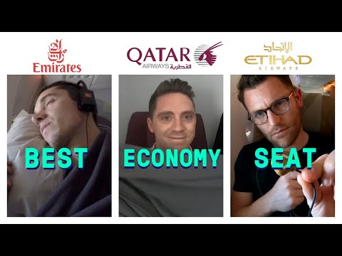 Emirates Vs Etihad Vs Qatar: Which Has The Best Economy Class?