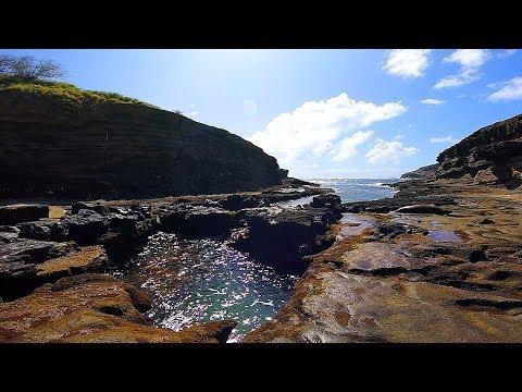 NSGH's Secret Cove, Honolulu, Hawaii (GoPro Session)