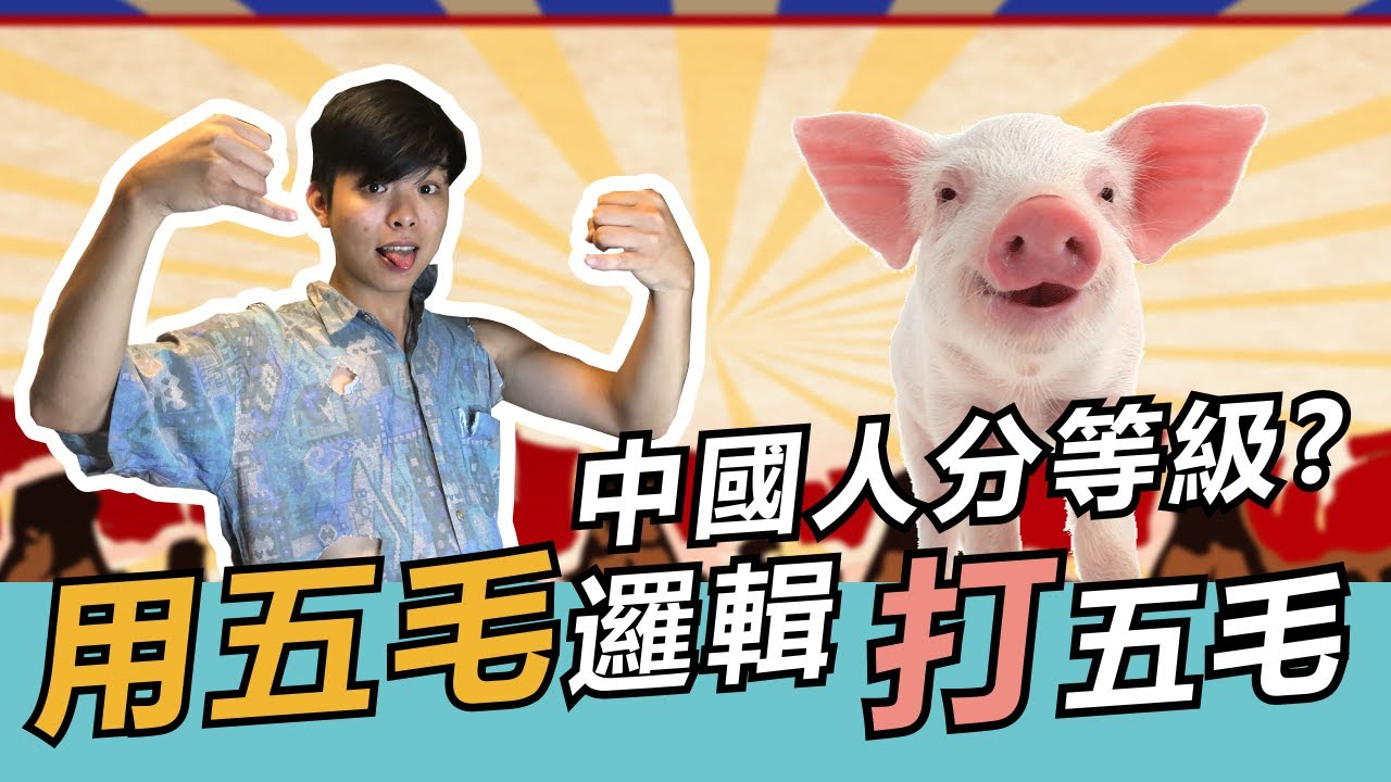 用五毛邏輯打五毛,臺灣是一等中國人? 中共是二等中國人|919直播 - YouTube