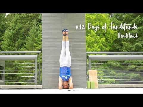 Headstand Tutorial | YogaSlackers 12 Days of Handstands
