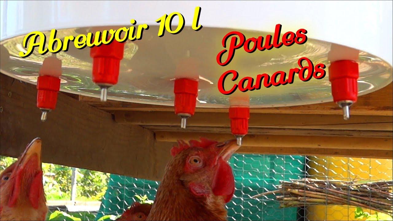 Abreuvoir simple r aliser 2 3 10 litres youtube for Abreuvoir lapin fait maison