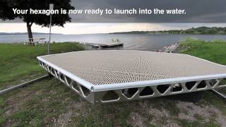 Canadadocks™ Hexagon Floating Dock Kit