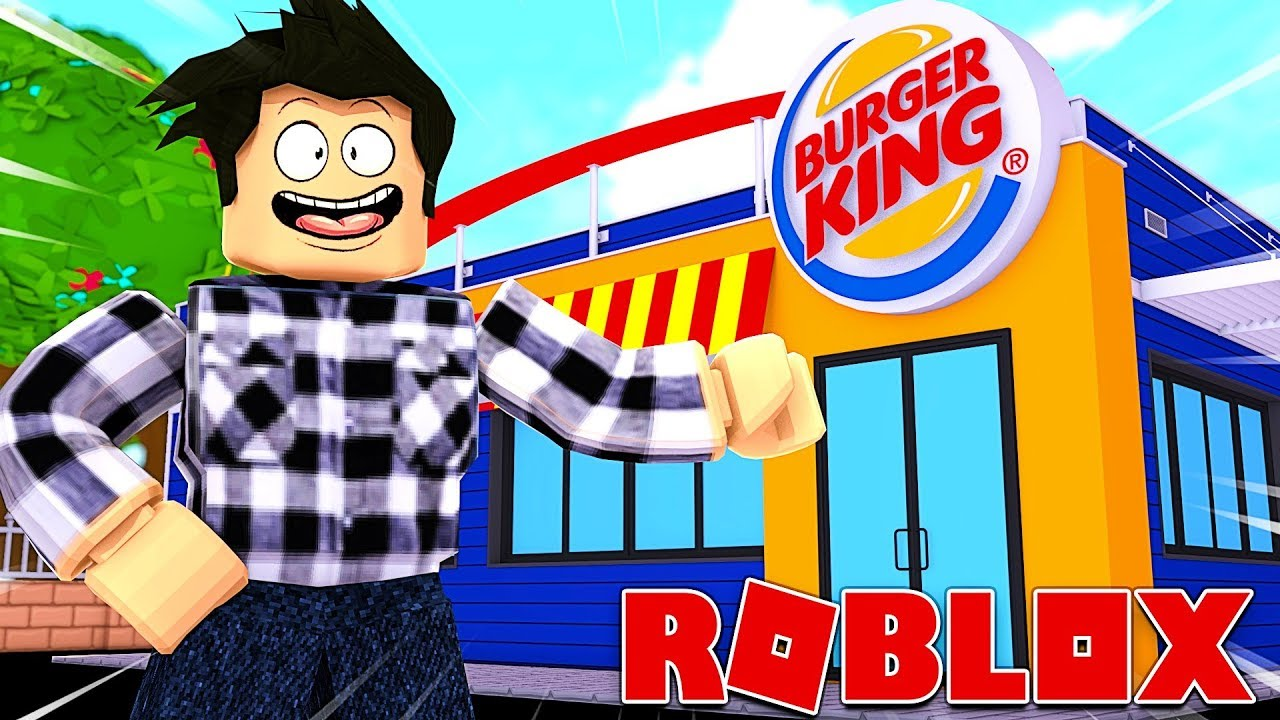 J Ouvre Un Burger King Roblox Fast Food Tycoon Youtube