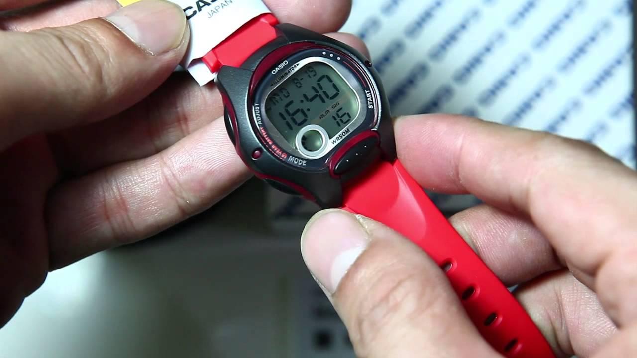 Casio standard LW-200-4A - YouTube dfa98e84a590