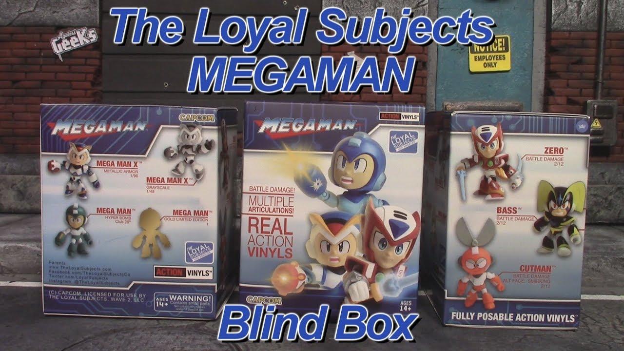 The Loyal Subjects Mega Man Battle Damage Walmart Exclusive Action Vinyl Figure