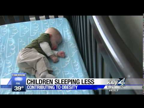 Working 4 you: Lack of sleep contributing to childhood obesity