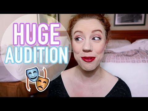 I AUDITIONED FOR BROADWAY?! | My SETC Experience