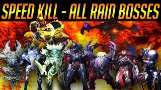DESTINY: ALL RAID BOSSES KILLED AS FAST AS POSSIBLE (D1 & D2)