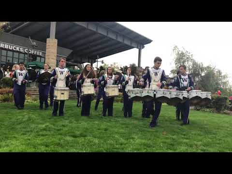 Edmonds Woodway High School Drumline 2018