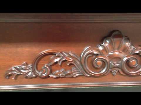 The Atlanta Mantel in Cherry - Large Fireplace Mantel