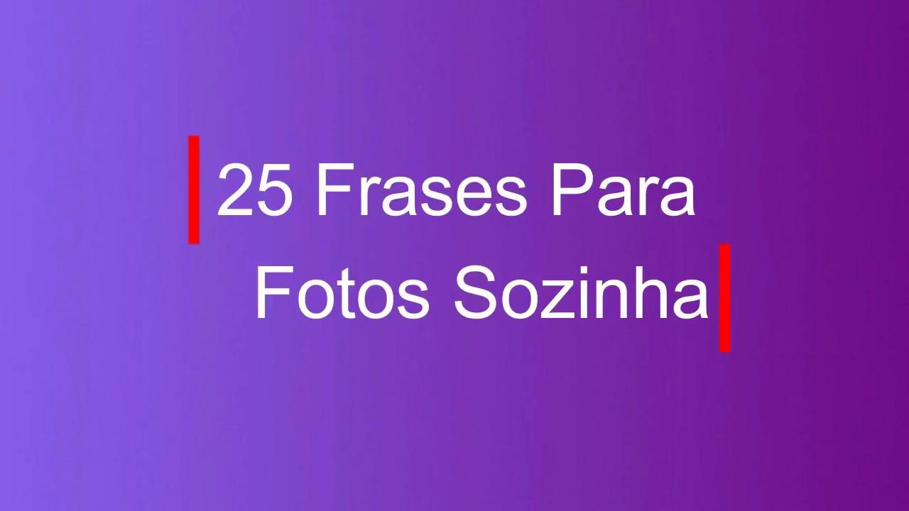 25 Legendas Para Fotos Sozinha 3