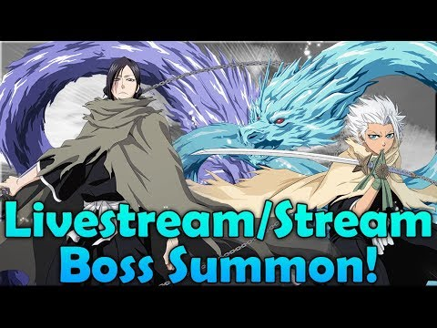 Bleach Brave Souls Co-Op Livestream & Maybe Summons!