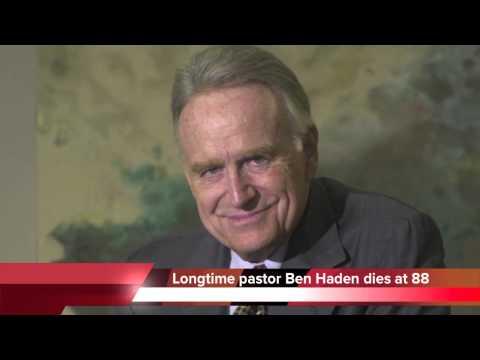 Longtime Chattanooga pastor Ben Haden dies at 88