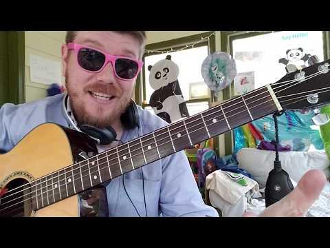 Alessia Cara - Out Of Love // easy guitar tutorial beginner