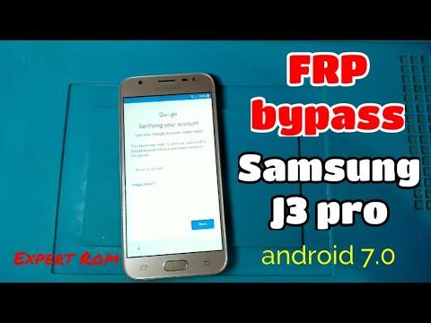 Samsung J3 Pro FRP Google Account Bypass