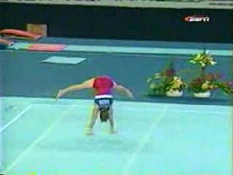 Paul Hamm 2002 floor routine worlds EF