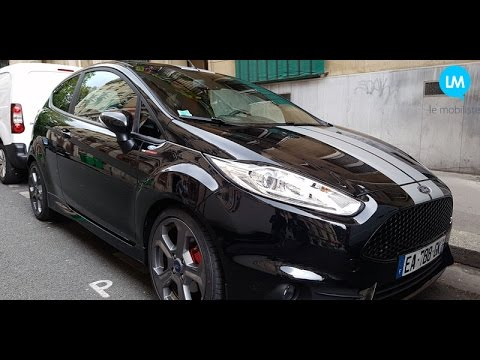 FORD FIESTA ST Black Edition  elle en a   YouTube