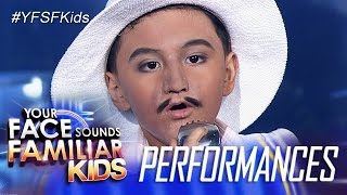 Your Face Sounds Familiar Kids: Alonzo Muhlach as Lou Bega - Mambo No. 5