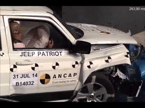 ANCAP CRASH TEST: Jeep Patriot 4x2 (from 2011)   Maximum 5 Star ANCAP Safety  Rating