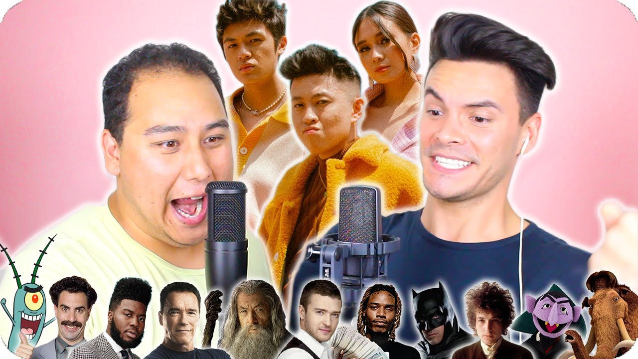 "Rich Brian, Warren Hue, NIKI - ""California"" Impersonation Cover (LIVE ONE-TAKE!)"