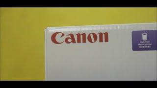 Canon PIXMA E560 Unboxing and Setup
